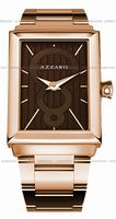 Replica Azzaro Legend Rectangular 2 Hands Mens Wristwatch AZ2061.52HM.000