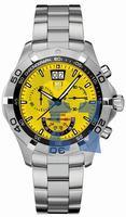 Replica Tag Heuer Aquaracer Chronograph Grand-Date Mens Wristwatch CAF101D.BA0821