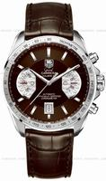 Replica Tag Heuer Grand Carrera Chronograph Calibre 17 RS Mens Wristwatch CAV511E.FC6231