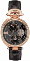 Replica Bovet Tourbillon Mundai Time Zone Mens Wristwatch CPO500