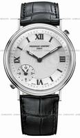 Replica Frederique Constant Dual Time Mens Wristwatch FC-205HS36