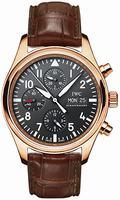 Replica IWC Pilots Watch Chrono-Automatic Mens Wristwatch IW371713