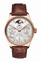 Replica IWC Portuguese Perpetual Calendar II Mens Wristwatch IW502213