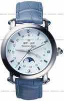 Replica Maurice Lacroix Masterpiece Phase De Lune Ladies Wristwatch MP6066-SS001-17E