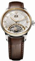 Replica Maurice Lacroix Masterpiece Jours Retrogrades Mens Wristwatch MP6358-PS101-11E