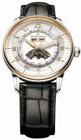 Replica Maurice Lacroix Masterpiece Phase de Lune Mens Wristwatch MP6428-PS101-11E