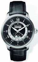 Replica Maurice Lacroix Masterpiece Phase de Lune Mens Wristwatch MP6428-SS001-31E