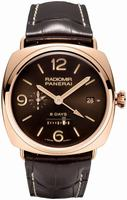 Replica Panerai Special Editions Radiomir 8 Days GMT Oro Rosso Mens Wristwatch PAM00395
