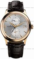 Replica Jaeger-LeCoultre Master Dual Time Mens Wristwatch Q1622430