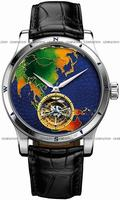 Replica Jaeger-LeCoultre Master Grand Tourbillon Continents Mens Wristwatch Q1656453