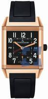 Replica Jaeger-LeCoultre Reverso Squadra Hometime Black Mens Wristwatch Q7002672