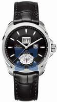 Replica Tag Heuer Grand Carrera Calibre 8 RS Grand Date GMT Mens Wristwatch WAV5111.FC6225