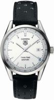 Replica Tag Heuer Carrera Twin Time Mens Wristwatch WV2116.FC6182