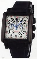 Replica Franck Muller Conquistador Cortez Chronograph Midsize Mens Wristwatch 10000 H CC-2