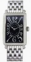 Replica Franck Muller Ladies Large Long Island Large Ladies Wristwatch 1002 QZ D-2