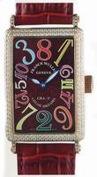 Replica Franck Muller Long Island Crazy Hours Large Unisex Unisex Wristwatch 1200 CH-15