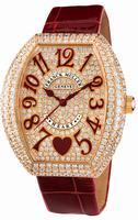 Replica Franck Muller Heart Midsize Ladies Ladies Wristwatch 5002 M QZ C 6H D3 CD
