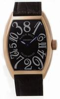 Replica Franck Muller Cintree Curvex Crazy Hours Midsize Unisex Unisex Wristwatch 5850 CH-14