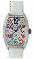 Replica Franck Muller Mens Small Cintree Curvex Large Mens Wristwatch 5850 SC COL DRM O-3