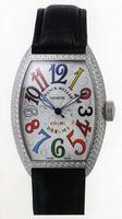 Replica Franck Muller Mens Small Cintree Curvex Large Mens Wristwatch 5850 SC COL DRM O-4