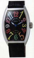 Replica Franck Muller Mens Small Cintree Curvex Midsize Mens Wristwatch 5850 SC COL DRM O-8