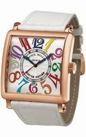 Replica Franck Muller Color Dreams Master Square Midsize Ladies Ladies Wristwatch 6000 H SC DT COL DRM V