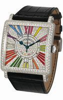 Replica Franck Muller Master Square Large Ladies Ladies Wristwatch 6000 K SC DT COL DRM R D CD
