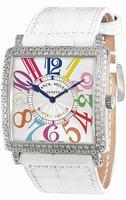 Replica Franck Muller Master Square Midsize Ladies Ladies Wristwatch 6002 M QZ COL DRM V D
