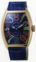 Replica Franck Muller Cintree Curvex Crazy Hours Large Mens Wristwatch 7851 CH-9