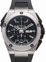 Replica IWC Ingenieur Double Chronograph Titanium Mens Wristwatch IW376501