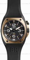 Replica Bell & Ross BR 02-92 Pink Gold & Carbon Mens Wristwatch BR02-PINKGOLD-CA