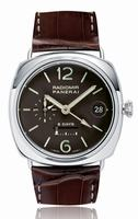 Replica Panerai Radiomir 8 Days GMT Platinum Mens Wristwatch PAM00201