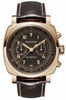 Replica Panerai Radiomir Chronograph Oro Rosso Mens Wristwatch PAM00519