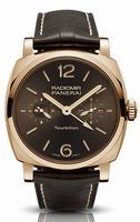 Replica Panerai Radiomir 1940 Tourbillon GMT Oro Rosso Mens Wristwatch PAM00558